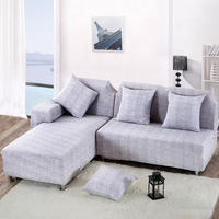 Universal lazy sofa cover all ins sofa cover full cover fabric elastic universal custom net red solid color