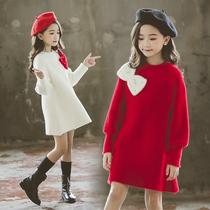 女童贝雷帽儿童冬季帽子百搭必备秋冬毛呢洋气毛呢帽子潮