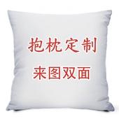 diy照片抱枕定制来图定做靠垫订做真人双面创意枕头生日礼物含芯