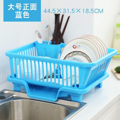 碗架加大加厚筷子收纳沥水碗架厨房碗盘置物架碟筷子收纳架置物架