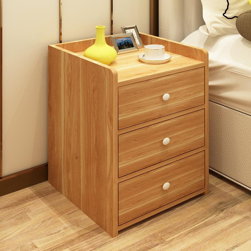 木质简易床头柜