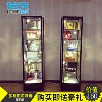 精品熱賣展柜化妝品展示架小型輕店鋪雜貨架家用書架置物架陳列柜