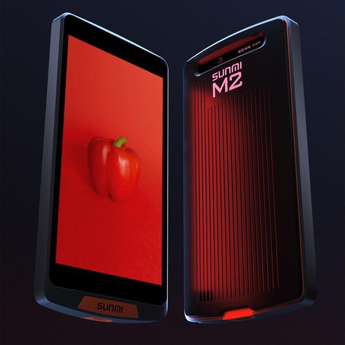 SUNMI/商米M2智能点菜宝移动无线WIFI数据采集器手持便携安卓扫码核销收款终端PDA收银系统扫描支付点餐机M1