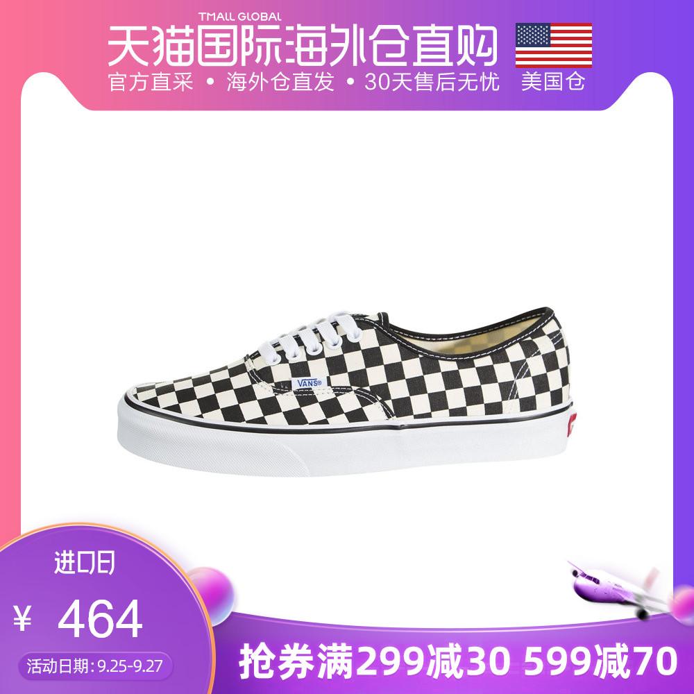 【美国仓直邮】Vans Authentic 范斯男鞋女鞋情侣款 帆布鞋 经典