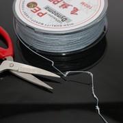 大力马鱼线4编100米灰色PE8编耐磨 台钓路亚海钓抗拉超值主线包邮
