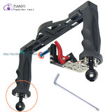 For TG4 TG5 GOPROTY-GJ bracket camera diving tray double grip adjustable wide photography stand