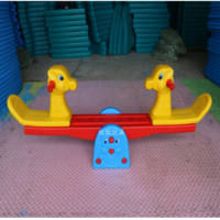 Special goldfish seesaw Double children's toys Outdoor seesaw Indoor kindergarten seesaw toys