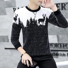 毛衣男士青年针织打底衫线衣外套加绒加厚冬季保暖韩版2018新款潮