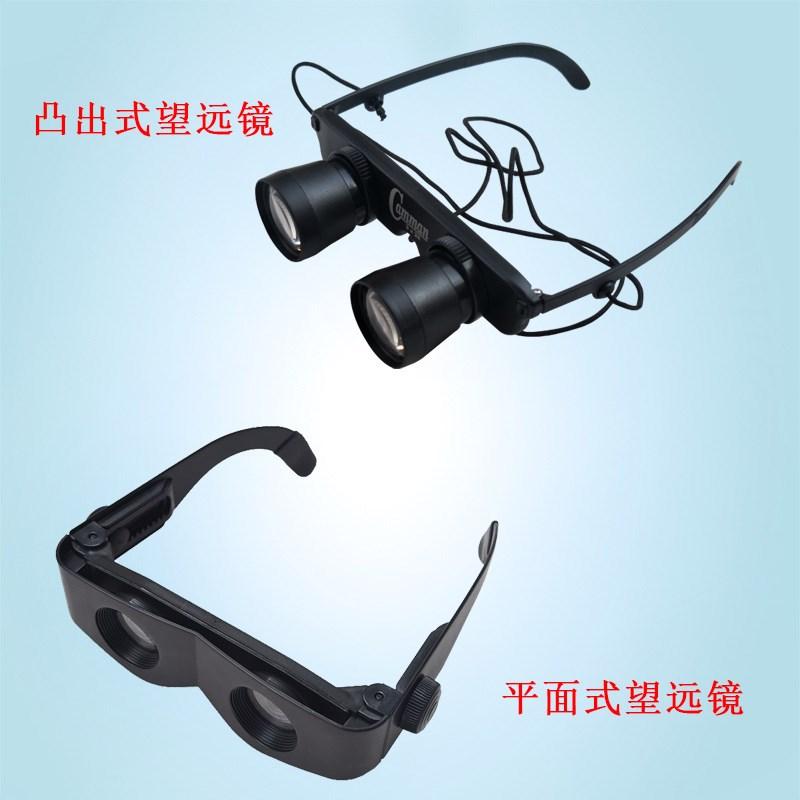 。钓鱼望远镜轻便头戴眼镜式高清倍放大看漂专用眼睛拉近10近视