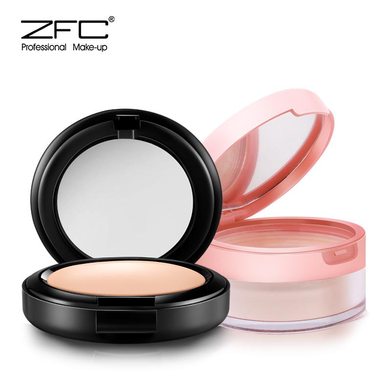 zfc初学者彩妆套装全套粉底膏定妆粉蜜粉湿粉散粉粉底淡妆化妆品