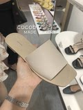 Scoblu Korea imports SAPPUN natural cowhide sandals slippers