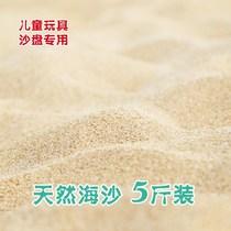 海沙天然细沙儿童玩具沙滩沙子鱼缸造景细沙子天然沙散装白沙
