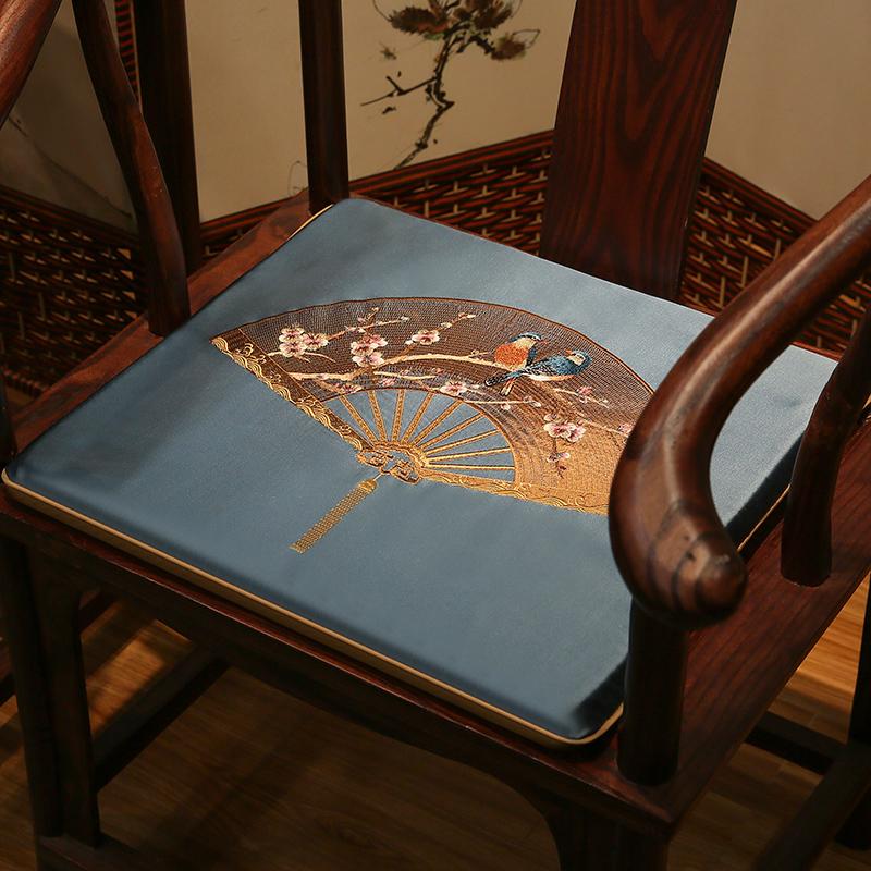 俏艺坊 居家布艺 羽扇-椅垫沙发椅