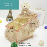 Henghe new U.S. package mail collection remote control basket rattan lace basket collection basket field remote control