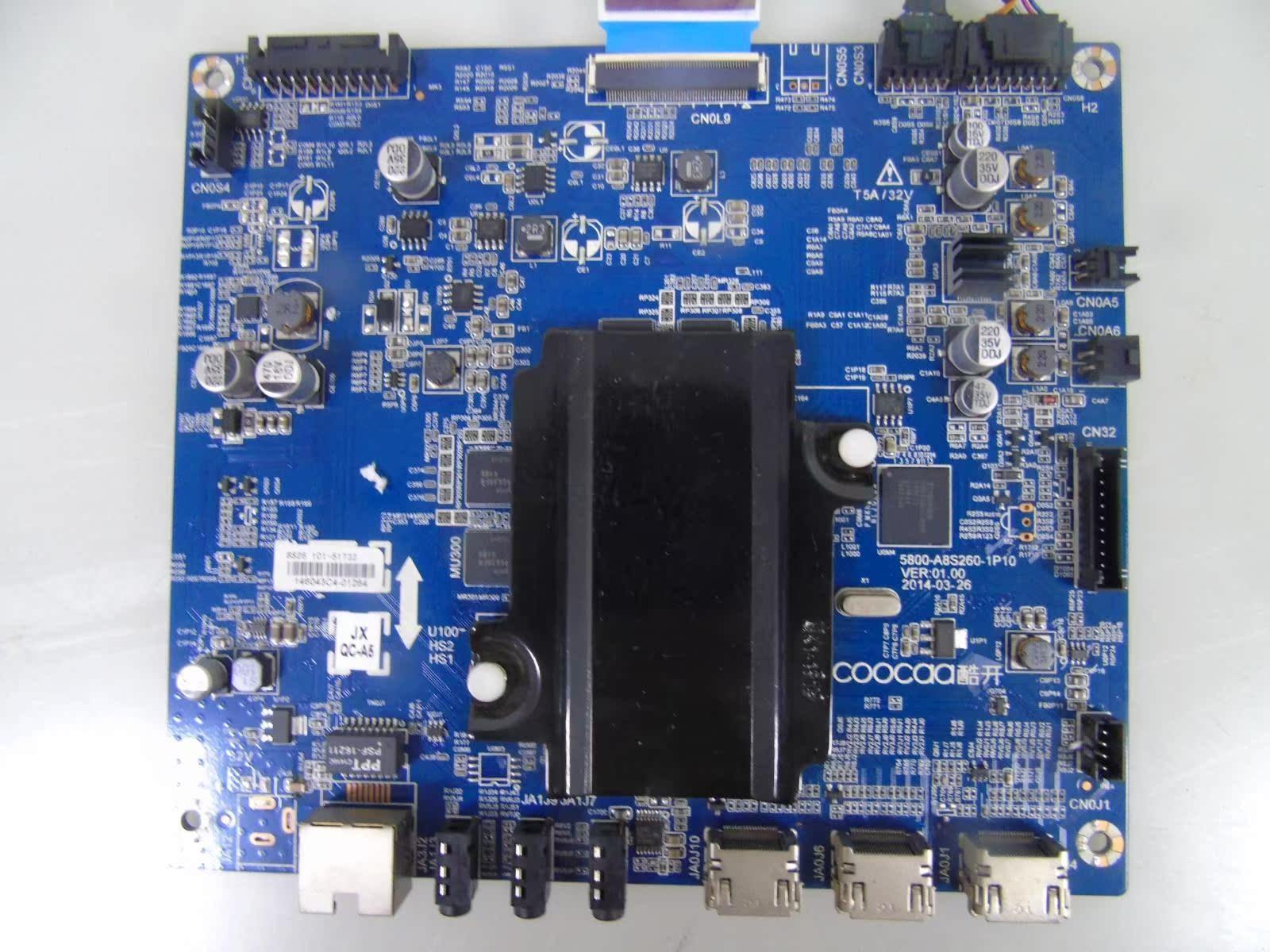 创维酷开 U49 主板 5800-A8S260-1P40 配 SEL490WY(LD0-410) 屏