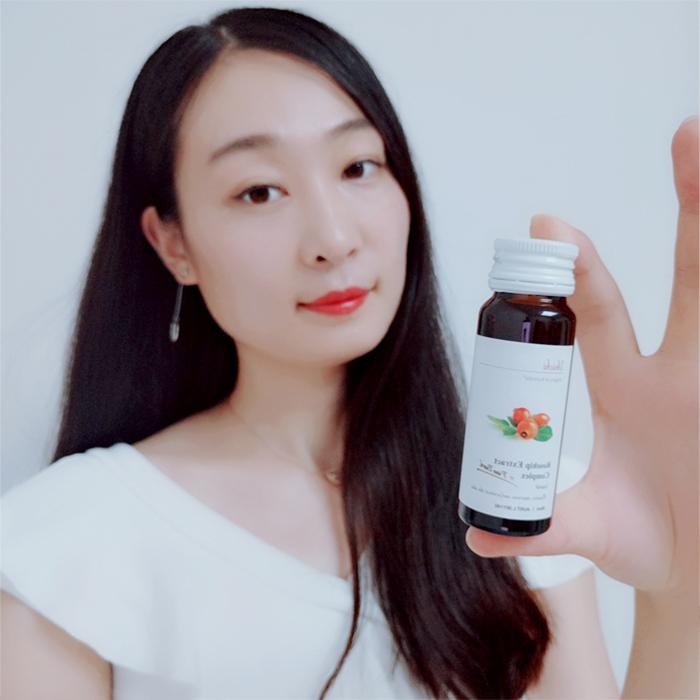澳洲unichi玫瑰果精华美白液口服液提亮肤色搭配VC玫瑰果10瓶/盒