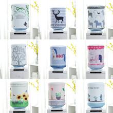 田园布艺饮水机罩防尘罩子韩式简约现代饮水机套子家用饮水机桶罩