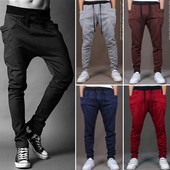 casual cotton pants jeans 2017 trousers winter men new