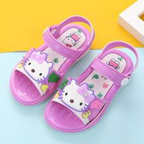 女童凉鞋2019新款潮小女孩公主鞋露趾小学生韩版中大童夏季儿童鞋