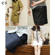 Eighthtsense Bajue Spring and Summer Smooth TR Tight waist Suit Small Skirt H Miniskirt P