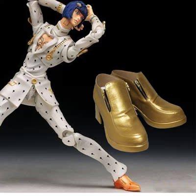 Jojo的奇妙冒险:黄金之风 布加拉提 COS鞋 COSPLAY鞋