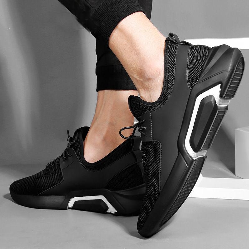 春季男鞋潮鞋百搭夏季透气运动鞋跑步鞋板鞋新款学生休闲鞋男鞋子