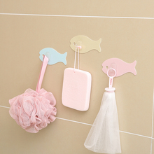 Fasola traceless hook strong viscose hook wall hanging load-bearing sucker kitchen door without punching and sticking hook