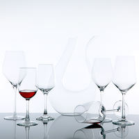 Red wine set home crystal cup goblet decanter wine glass cup creative wine glass