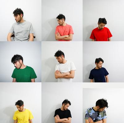 姚表哥家毒家发售新款 男女全棉夏季colour美式打底衫口袋短袖T恤