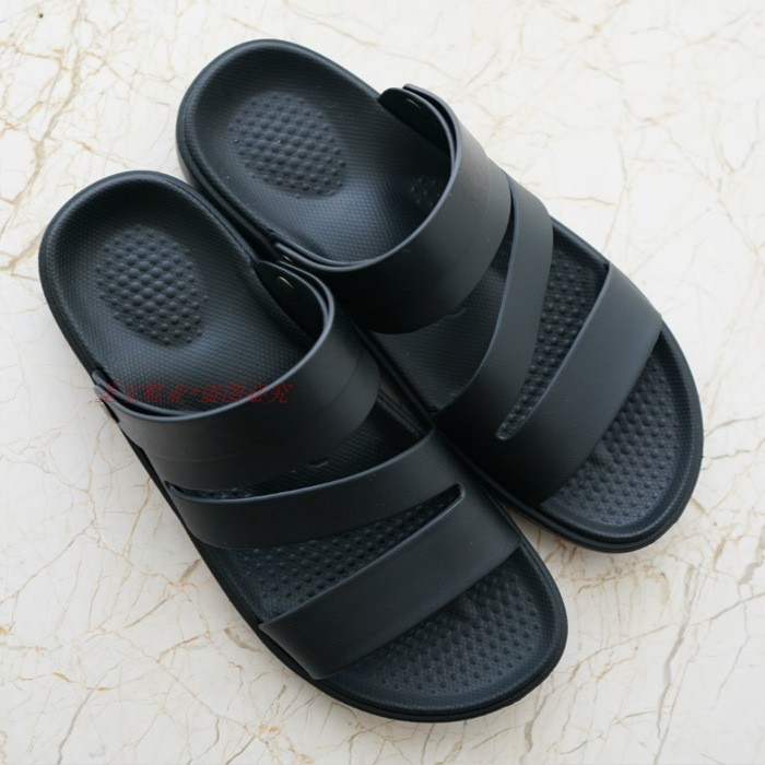 luofu罗敷凉拖鞋男夏季新款男士外穿两用凉鞋防水防滑沙滩拖鞋