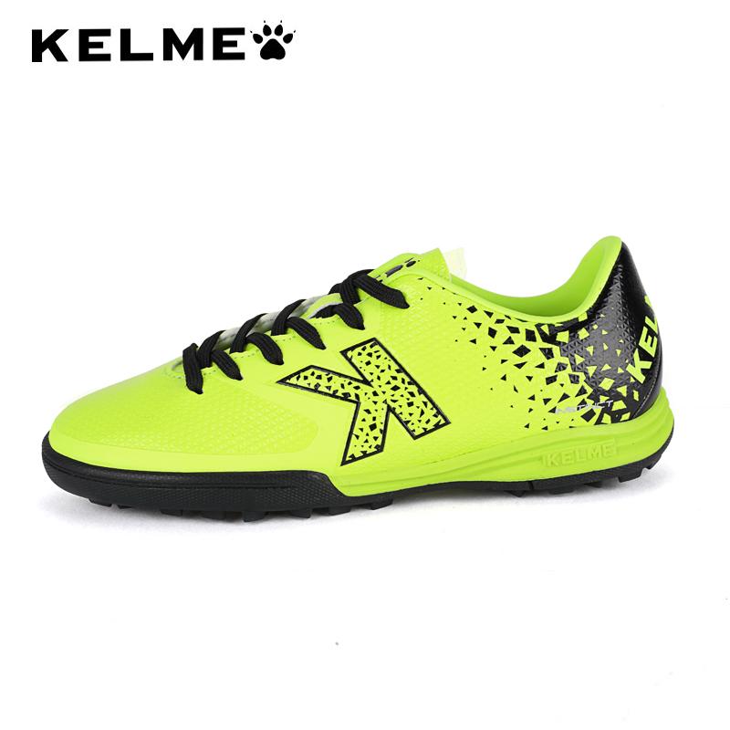 KELME卡尔美 正品儿童足球鞋青少年碎钉训练鞋男女学生运动鞋男童