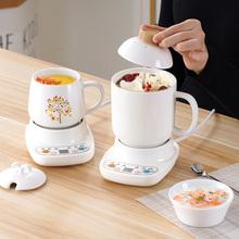 迷你办公室养生炖杯电热全自动煮粥杯热牛奶电炖小型加热水杯1人2