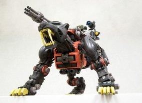 现货包邮 黑骑士BT 1/72 索斯机械兽 009 格林炮黑色长牙虎 老虎