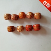 accessories african wooden hair beads 非洲脏辫配饰braids