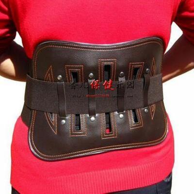 豪邦牌腰宜生护腰带腰椎固定带自发热磁疗钢板腰围 腰椎键盘突出