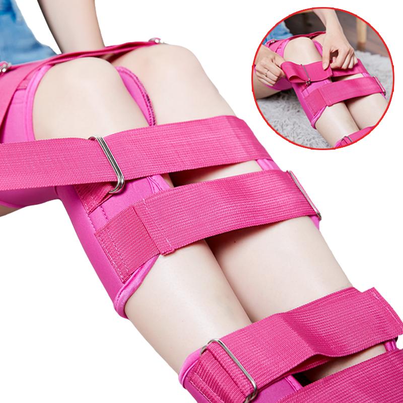 2019魅佳精品腿型矫正带男女儿童学生成人束腿带均码通用三色可选