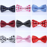 Children's Tie Baby Boys and Girls Student English Show Show Bowtie Shirt Tie Small Dress Fashion