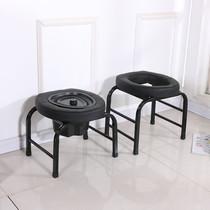 环保防滑木质坐便椅实木残疾人老人坐便器蹲坑凳易便携式坐厕椅