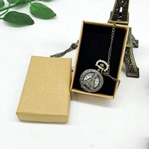 Bracelet jewelry box custom jewelry necklace jewelry packaging bag pendant kraft paper ring other paper jewelry necklace