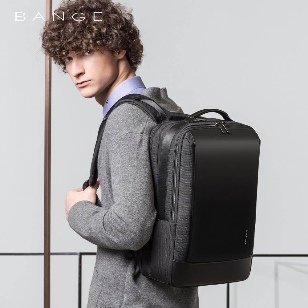班歌商务双肩包男轻便背包出差必备大容量旅行包休闲15.6寸电脑包