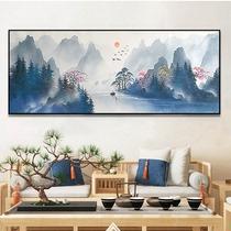 大尺寸巨幅装饰画现代简约抽象北欧客厅挂画纯手绘油画印象城市