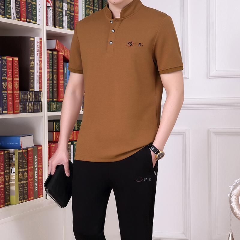 夏款短袖polo衫