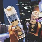 卡通可爱喵星人牛奶瓶塑料水杯子创意便携防漏学生大容量运动水壶