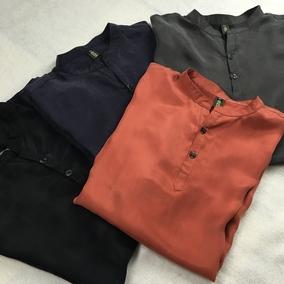 中国风男士复古短袖T恤真丝桑蚕丝加肥加大码宽松t恤天丝上衣男装