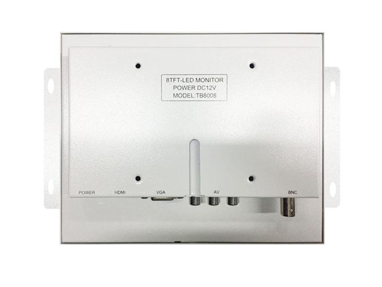 SUPER8寸HDMI1024X768高清便携式迷你监控设备电脑显示器医疗设备