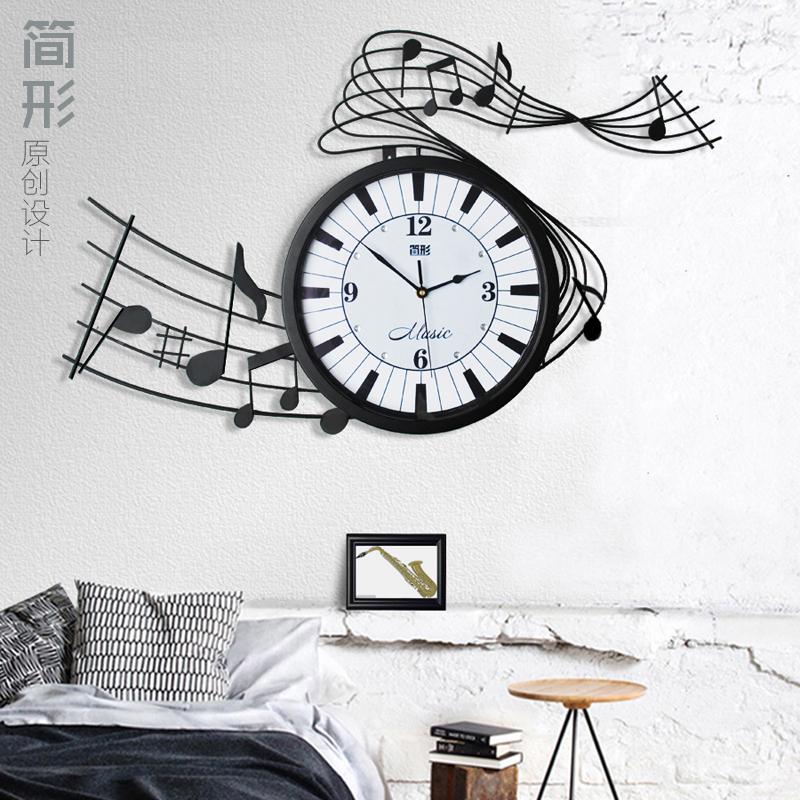 新时尚客厅艺术挂钟