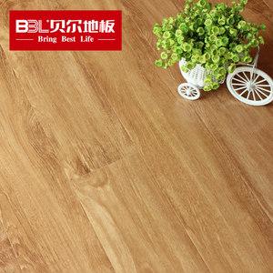 贝尔地板 强化复合地板12mm地暖木地板封蜡防水耐磨防滑镜面 U雅