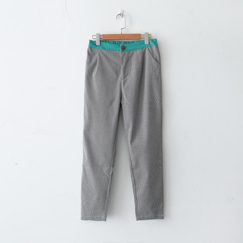 口袋拉链女裤