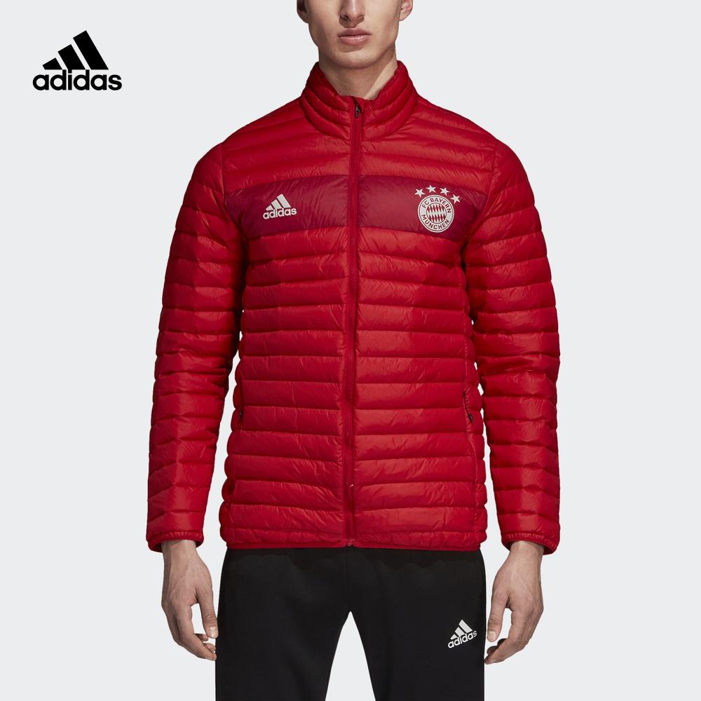阿迪达斯官方 adidas FCB 男子足球拜仁慕尼黑羽绒茄克CY6111