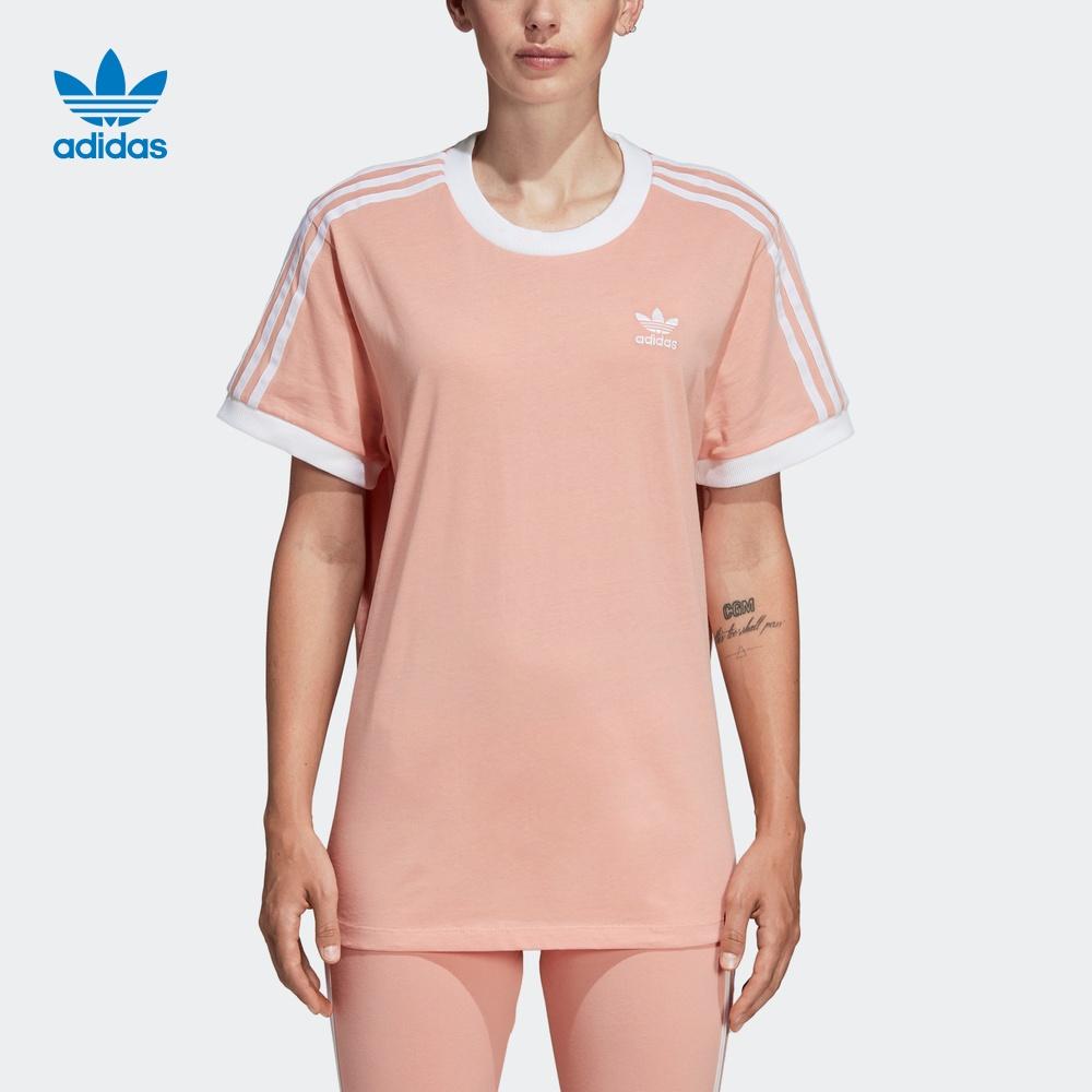 阿迪达斯官网三叶草女运动短袖T恤DV2583 DV2590 DV2592 CY4751